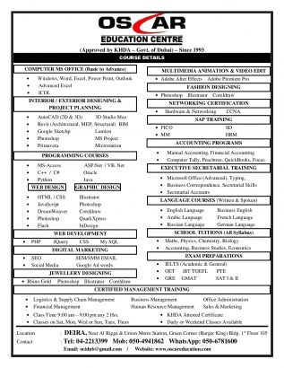 Executive Secretarial & Office Administration – 0506781600