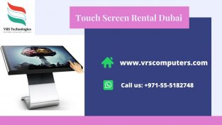 Industry Leader in Touch Screen Rental Suppliers in Dubai