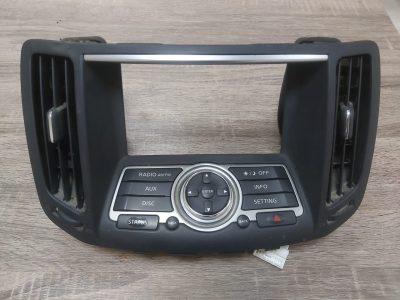 INFINITI G25 G37 EX35 2011 2012 2013 RADIO CONTROL PANEL OEM PART NO 28395 JK60D