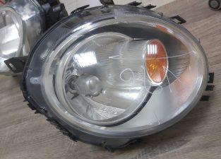 MINI COOPER COUPE R56 2009 TO 2011 LEFT HEADLIGHT OEM PART NO HBP O16081801 ( Genuine Used MINI Parts )