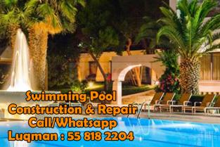 Jumeirah Park Swimming Pool Construction 0558182204