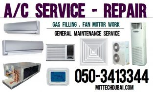 Ac Service Air Conditioner Service Aircon Cleaning Air Condition Maintenance in Dubai