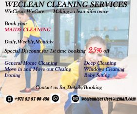 WeClean Cleaning Services