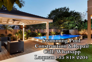 Swimming pool contractor in dubai 0558182204