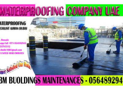Waterproofing Applicator Ajman Sharjah Dubai