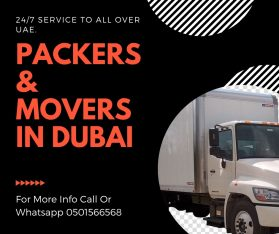 0501566568 Tecom Movers and Packers in Dubai Single item, Flat,Office,Villa Move with Close Truck