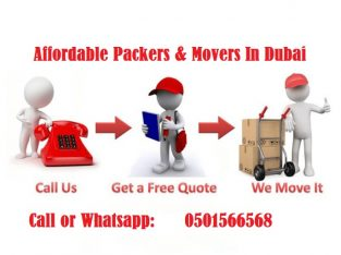 0501566568 Movers in Distric 6 Jumeirah Park Single item,Villa,Office move with Close Truck