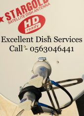 Satellite Iptv 4K Channels Installation 0563046441 Dish Services In JLT