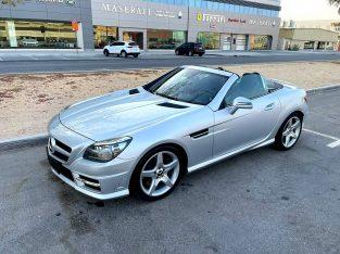 Model 2013 Mercedes SLK 200 AMG Hard Top Convertible 2.0 Liter Engine 4 Cylinder