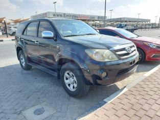 Toyota Fortuner 2008 GCC Spec, Good condition,
