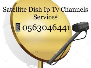 Satellite Dish Cable Tv Boxes Installation 0563046441 In Duabi