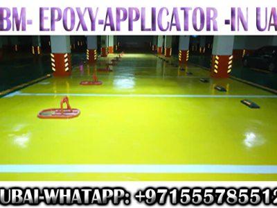 Epoxy Flooring Applicator in Dubai Ajman Sharjah