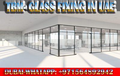 Glass Partition Fixing Contractor Ajman Sharjah