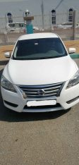 Nissan-Sentra-2014 1-6L Extronic CVT Gcc-specs-single owner DOCTOR in AbuDhabi Less driven-41500km only-for-26500dh 0552929702