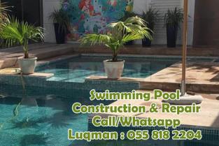 Swimming pool maintenance company