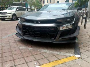 camaro 2018 cut 1zL clean car