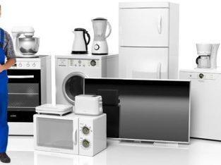 AC Repair–Fridge repair–washing machine repair–cooking range repair