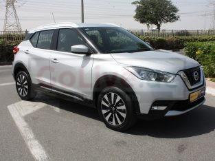 Nissan Kicks 2020 GCC Spec, Good condition, Warranty, AED 58,500,