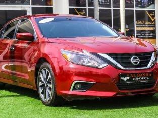 Nissan Altima 2016 AED 28,000, Good condition, US Spec