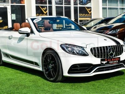 Mercedes Benz C-Class 2018 AED 140,000, Good condition, Full Option, US Spec, Navigation System