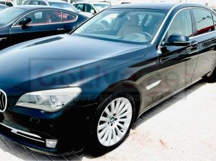 BMW 7-Series 2014 AED 49,000, GCC Spec, Good condition, Warranty, Full Option, Sunroof, Navigation System, Negotiable