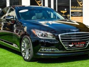 Hyundai Genesis 2015 AED 65,000, Good condition, Full Option, US Spec, Sunroof, Navigation System, Fog Lights