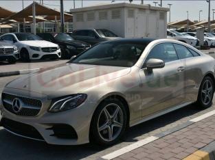 Mercedes Benz E-Class 2018 AED 210,000, Good condition, Warranty, Full Option, Turbo, Sunroof, Navigation System, Fog Lights