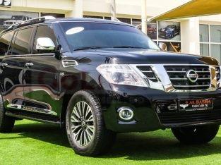 Nissan Patrol 2015 AED 125,000, GCC Spec, Good condition, Full Option, Sunroof, Navigation System, Fog Lights