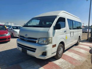 Toyota Hiace 2013 AED 46,000, GCC Spec, Full Service Report