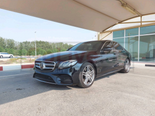 Mercedes Benz E-Class 2017 AED 155,000, GCC Spec, Good condition, Full Option, Sunroof, Fog Lights, Negotiable, Full Service
