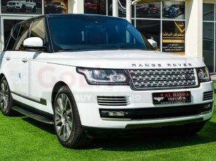 Range Rover Vogue 2014 AED 165,000, GCC Spec, Good condition, Full Option, Turbo, Sunroof, Navigation System, Fog Lights