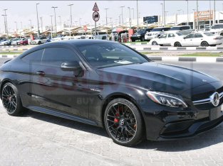 Mercedes Benz C-Class 2018 AED 275,000, Good condition, Warranty, Full Option, Turbo, Sunroof, Navigation System, Fog Lights