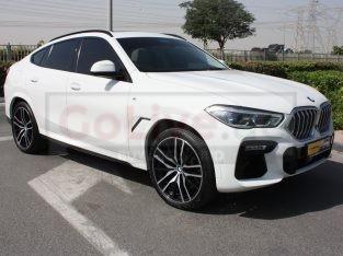 BMW X6 2020 GCC Spec, Good condition, Warranty, Full Option, Turbo AED 349,000,