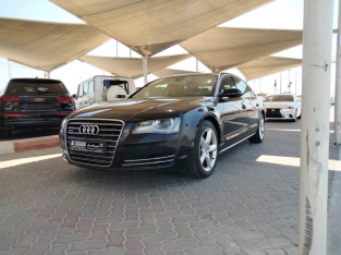 Audi A8 2014 AED 58,000, GCC Spec, Good condition, Full Option, Sunroof, Fog Lights
