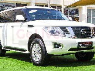 Nissan Patrol 2015 AED 120,000, GCC Spec, Good condition, Full Option, Sunroof, Navigation System, Fog Lights