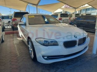 BMW 5-Series 2011 AED 37,000, GCC Spec, Full Option, Sunroof, Navigation System, Negotiable