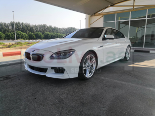 BMW 6-Series 2013 AED 68,000, GCC Spec, Good condition, Warranty, Full Option, Turbo, Sunroof, Navigation System, Fog Lights, Nego