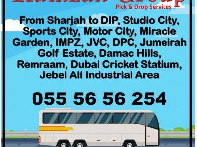Carlift pick n drop Ramzan Group / Sharjah to DIP carlift service directly