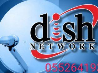 Satellite dish installation the villa 0552641933 Low price