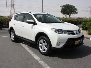 Toyota Rav 4 2014 GCC Spec, AED 48,000, Good condition, ull Service Report