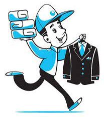 WE COLLECT CLEAN AND DELIVER YOUR LAUNDRY