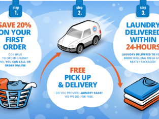FAST LAUNDRY AND DRY CLEANING SERVICES ALL ACROSS DUBAI