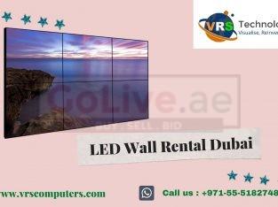 Rent Seamless LED Video Wall Display in Dubai UAE