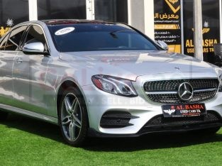 Mercedes Benz E-Class 2019 AED 170,000, Good condition, Full Option, US Spec, Sunroof, Navigation System, Fog Lights