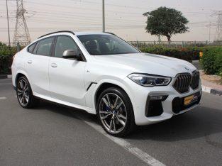 BMW X6 2021 GCC Spec, Good condition, Warranty, Full Option, Turbo AED 449,000,