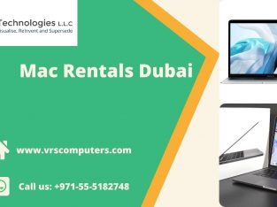 MacBook Rentals in Dubai for Events or Personal Use