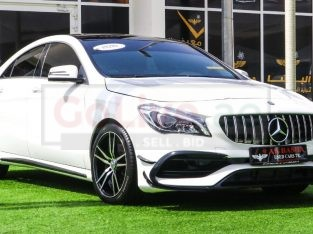 Mercedes Benz CLA 2018 AED 95,000, Japanese Spec, Good condition, Full Option, Sunroof, Navigation System, Fog Lights