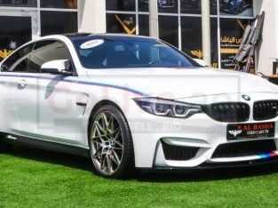 BMW M4 2017 AED 240,000, Japanese Spec, Good condition, Full Option, Turbo, Navigation System