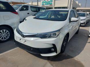 Toyota Corolla 2017 AED 35,000, GCC Spec, Full Option, Fog Lights, Negotiable