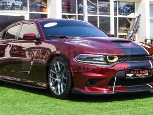 Dodge Charger 2019 AED 120,000, Good condition, Full Option, US Spec, Turbo, Sunroof, Navigation System, Fog Lights